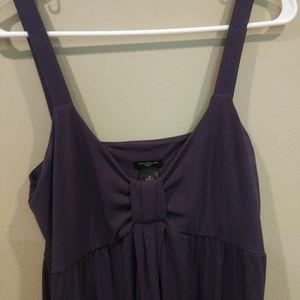 Ann Taylor Purple Maxi Dress